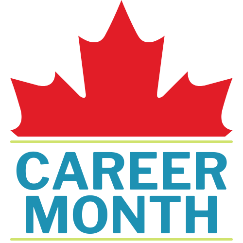 English Career Month Logo in Colour